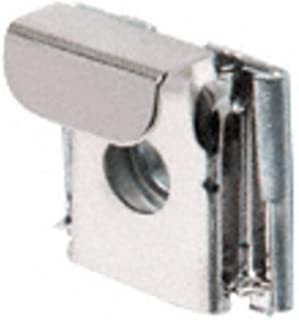CRL Polished Chrome Plastic Lined Mirror Mounting Clips, 4 Clips Per Set