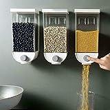Dispensadores de alimentos montados en la pared, cereales de fácil prensa,...