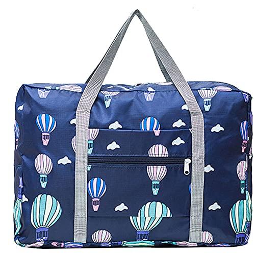 Bolsa de viaje plegable para deportes, yoga, Oxford, con gran capacidad, impermeable, bolsa de hombro, para entrenamiento, equipaje, bolsas de viaje para mujeres, bolsas de viaje