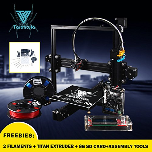 Details about 2017 TEVO Tarantula 3D Printer kit with 2 rolls Filaments SD card Free Shipping