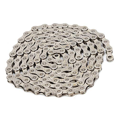 FAMKIT Bike Chain for 10/30 Speed Bicycles Stainless Steel Mountain Bike Anti-Rust Accessory