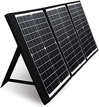 PAXCESS 60W 18V Portable Solar Panel with USB QC 3.0 & Type C Output