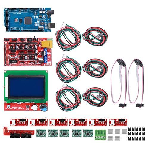 Jeanoko Electrónica de Consumo Duradera Interruptores de límite fiables Kit de Impresora 3D para...