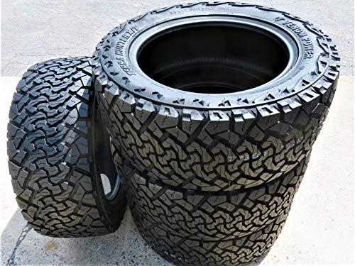 Set of 4 (FOUR) Venom Power Terra Hunter X/T All-Terrain Tires-35X12.50R20LT 125R LRF 12-Ply