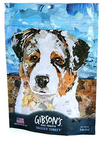 Gibson's Toasted Turkey - Soft Jerky Dog Treats, 3oz