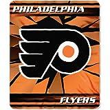 Philadelphia Flyers NHL 50 x 60 inch Lightweight Soft Fleece Throw Blanket