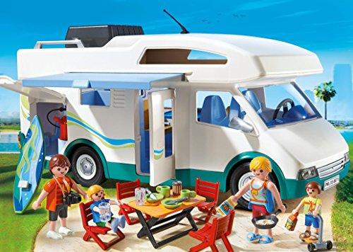 Auto Caravane Camping Playmobil pour la Famille - 6671 - 1