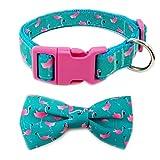 azuza 3er-Pack Hundehalsbänder, niedliches und stilvolles Nylon-Hundehalsband, Holiday Air Collection für kleine, mittelgroße und große Hunde