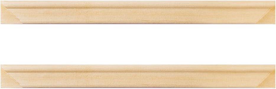 Max 61% OFF Solid Canvas Stretcher Frames Premium Pine Strips Albuquerque Mall Set Bar Wood
