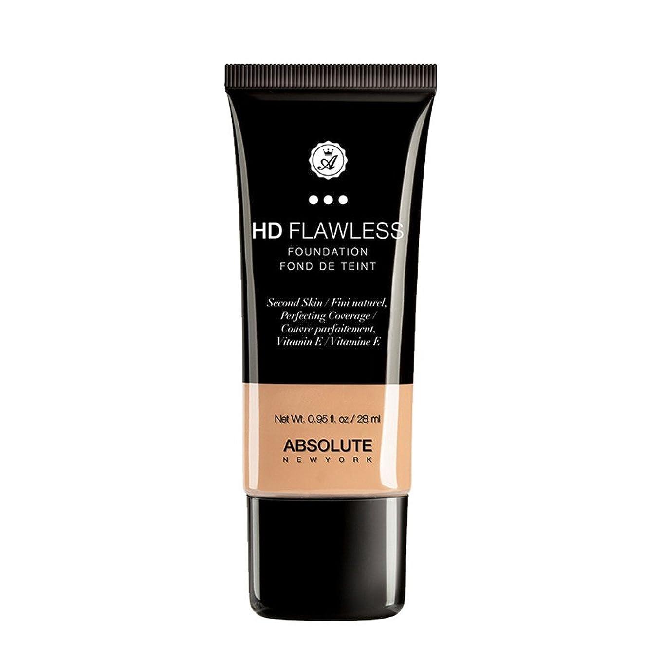 民間人スイ非武装化(6 Pack) ABSOLUTE HD Flawless Fluid Foundation - Natural (並行輸入品)