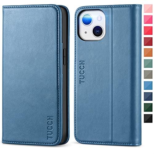 TUCCH Funda Compatible con iPhone 13, Funda Piel Suave para iPhone 13,...