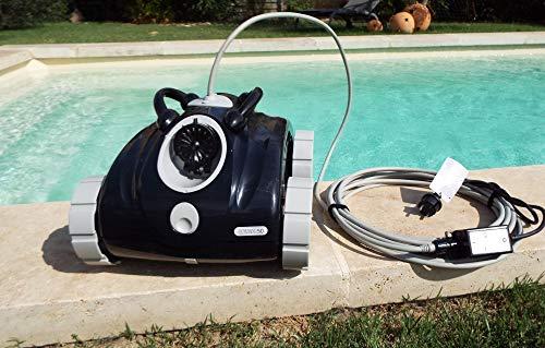 ORCA - Robot Piscine Orca 050 - Robot Nettoyeur Fond - Autonome - Compatible Tout Revêtement - Accès Au Sac Par Le Dessus - Robot Piscine ORCA 50 - Pour Piscine jusqu à environ 36m3