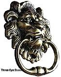 THREE EYE STORE Aldaba para Puerta de león Antiguo