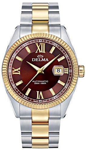 Delma - Herrenuhr Automatik Analog Metallarmband - 407082