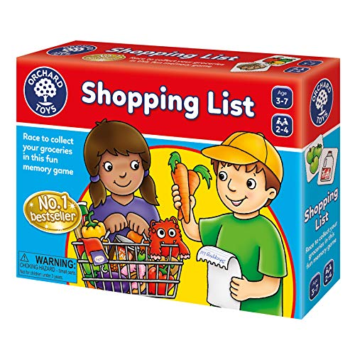 Orchard Toys Shopping List, Fun and Educational Game - Perfect for...