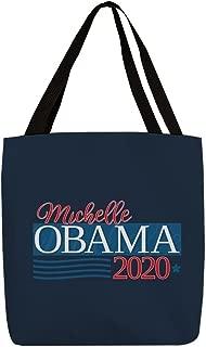 CafePress Michelle Obama 2020 FB Polyester Tote Bag