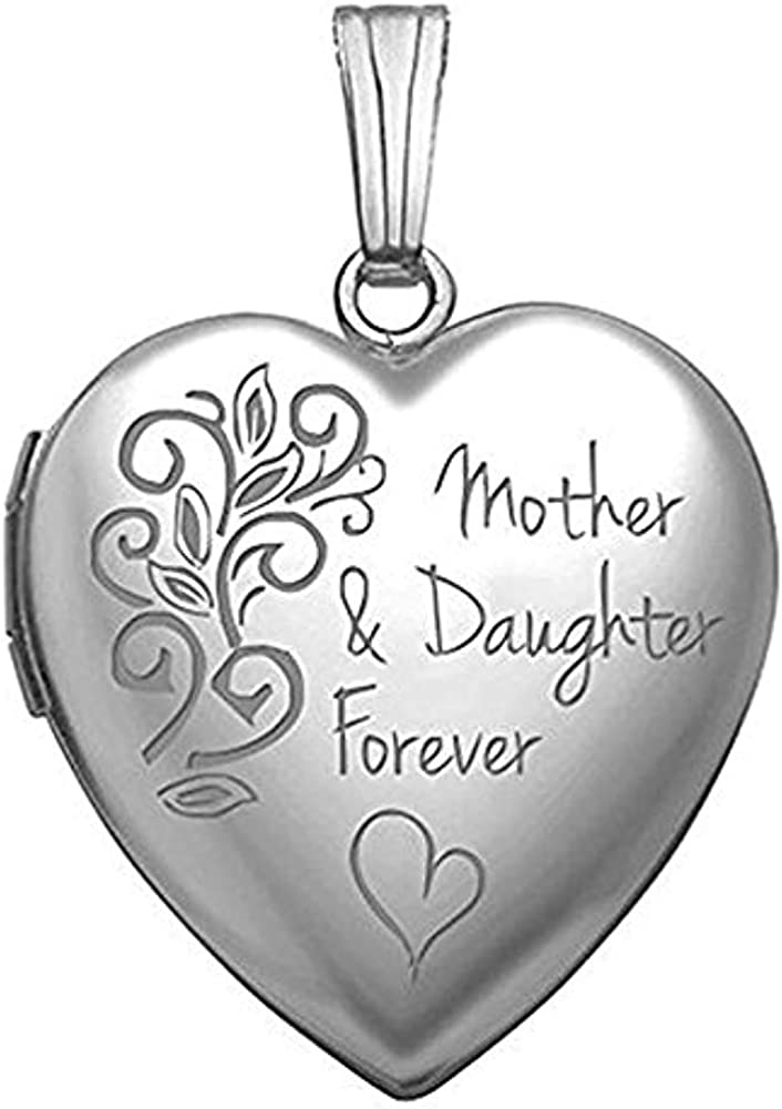 PicturesOnGold.com Sterling Max 79% OFF Silver Soldering Mother Daughter L Forever and