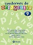 Cuaderno de Ortografía 9 (Castellano - Material Complementario - Cuadernos De Ortografía) - 9788421643518