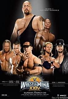 Wrestlemania Xxiv 24 Mini Poster 11X17in Master Print