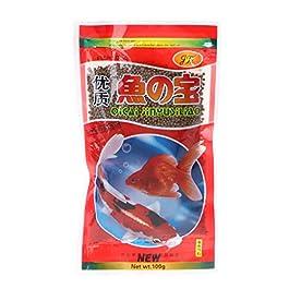 YU-HELLO 47g Fish Food Koi Aquarium Food Feeding For Goldfish Tropical Carp
