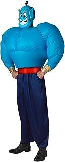 Disney - Aladdin - Genie Adult Inflatable Costume, Adult - Size Std