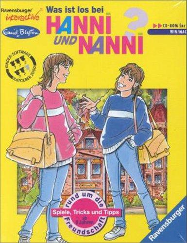 Was ist los bei Hanni und Nanni?: Ein interaktives Spiel rund um die Freundschaft. CD-Rom