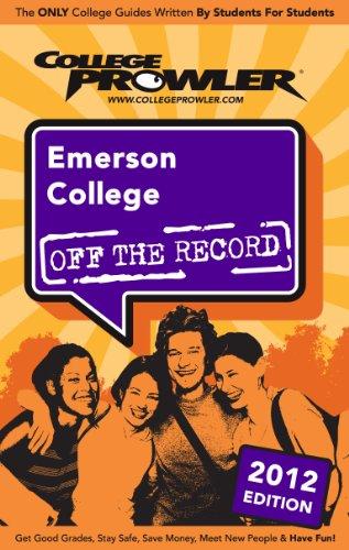 Emerson College 2012 (English Edition)