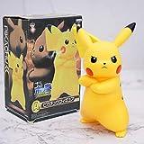 Super Cute Angry Pikachu Figure Anime Pokemon Action Figurine Collection Modelo Juguetes para Niños Regalos 18Cm En Caja