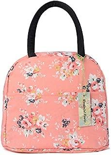 wonderful flower Insulated Lunch Box Cooler Bag lunch bag flower (015 Peach)