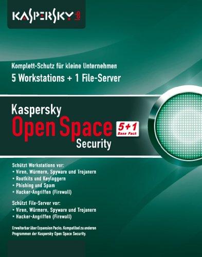 Kaspersky Open Space Security fr kleine Unternehmen (5+1 Base Pack) [import allemand]
