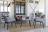 Zoom IMG-2 bica luxor lounge set grigio