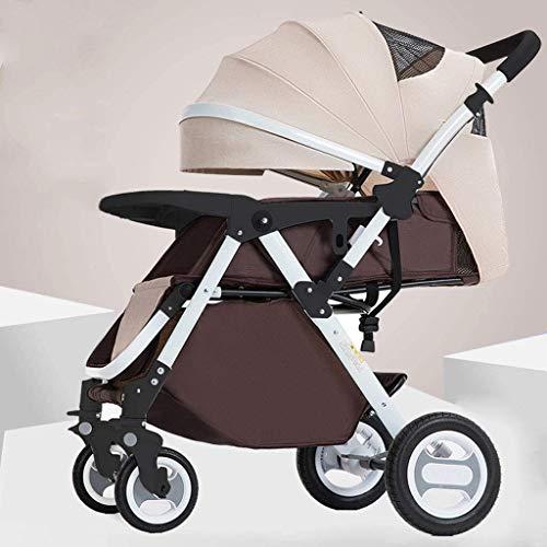 WDCC Cochecito de bebé, Cuna, Cochecito, Cochecito, Cochecito de bebé, para recién Nacidos y niños pequeños, Cochecito reclinable Convertible, Cochecito Plegable y portátil, Cochecito antichoque