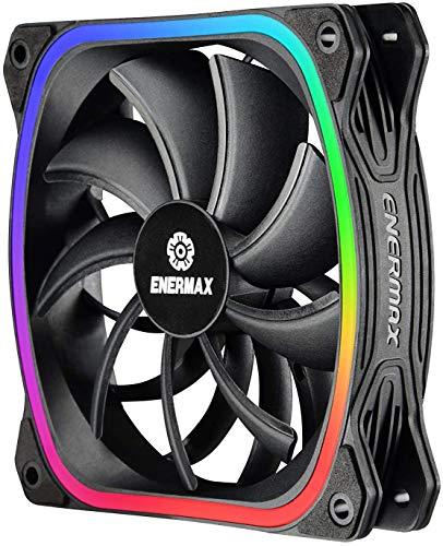 Enermax SquA RGB Carcasa del Ordenador - Ventilador de PC (Carcasa del Ordenador)