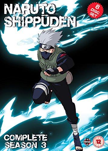Naruto Shippuden Complete Series 3 Box Set (Episodes 101-153) [DVD] [Import anglais]