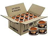 24 pc 4 Hour Liquid Cooking Chafing Dish Fuel Cans, Food Warmer Heat for Buffet Burners, Parties, Weddings, Banquets, Catering Events, Bulk, Easy to Open, Resealable Covers