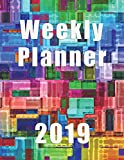 Weekly Planner 2019: Modern Weekly Planner|Agenda|Notes|To Do|8.5 x 11