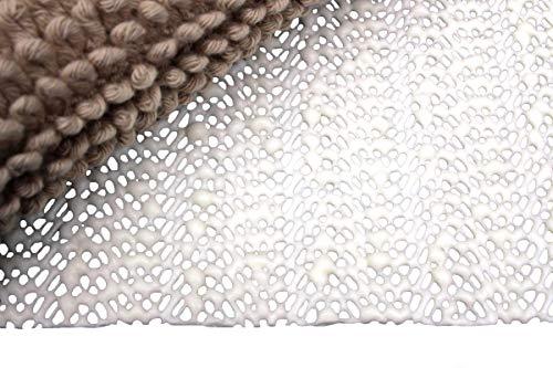 Moon Anti-Rutsch Matte Teppichunterlage Premium zuschneidbar, rutschfest und 60° waschbar (80x200)