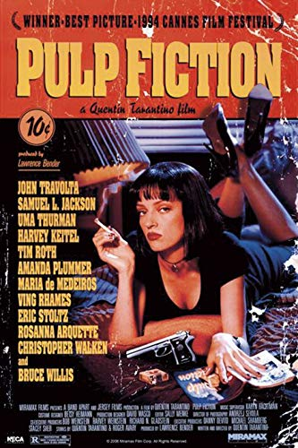 Pulp Fiction - Poster Cover