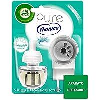 Air Wick Eléctrico - Recambios de ambientador, esencia para casa con aroma a nenuco - pack de 1 aparato y 1 recambio