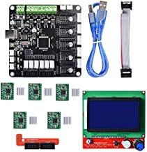 DP-iot HOT-Kfb3.0 3D Control Board +LCD 12864 Module Display Monitor Motherboard + A4988 Stepstick Stepper Motor Driver Module for Re