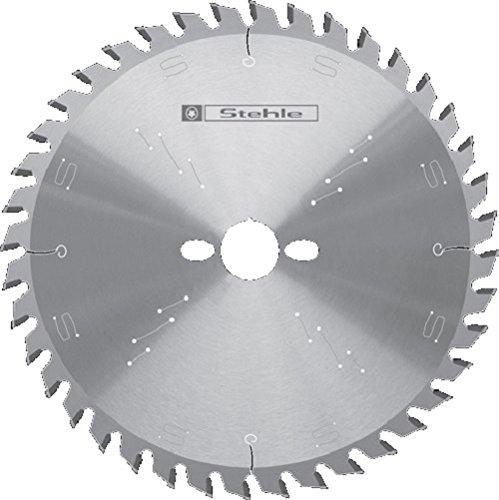 Stehle HW HKS-massief cirkelzaagblad voor accu-handcirkelzagen 165 x 1,5/1,0 x 20 mm Z = 24 platte tanden met wisseltand