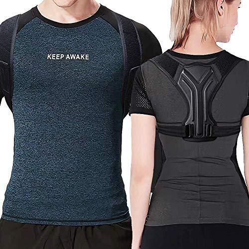 Posture Corrector for Men and Women - Back Support - Adjustable Upper...