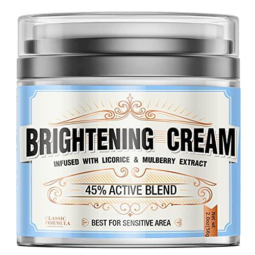 Whitening Cream, Skin Lightening Cream for Face & Body, Hyperpigmentation...
