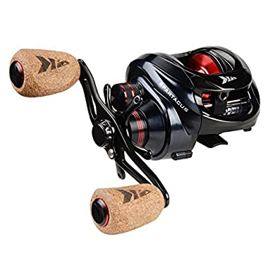 KastKing Right Handed Spartacus Plus Baitcasting Reel Ultra Smooth, 17.5 lb