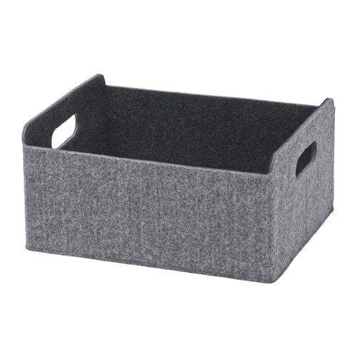 Ikea BESTA Box in grau; (25x31x15cm)