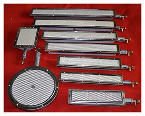 YRDZ Accesorios de Barbacoa Quemador de Placa de cerámica inyector (Boquilla) Quemador infrarrojo de Gas for Barbacoa, Kebab, asado, etc. Parrilla de Gas (Color : 22 17cm)