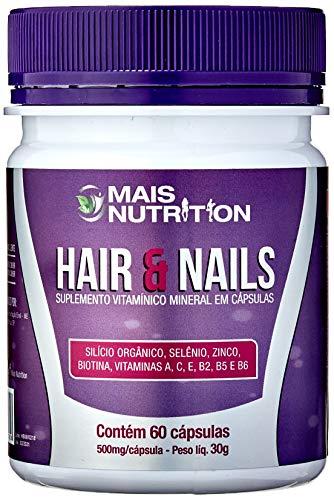 Mais Nutrition Cabelos e Unhas Hair & Nails 500 mg 60 capsulas