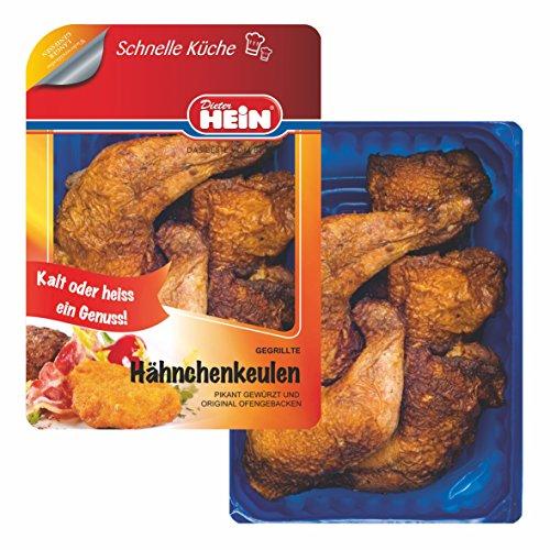 Hähnchenkeulen küchenfertig gegrillt-saftige Keulen vom Hähnchen 6 x 200g von Dieter Hein