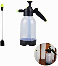 MINGHEJIXIE PH-01 Water The Flowers Irrigate Watering Can Spray Bottle Agricultural Small Sprayer,Water The Flower Tools, Power Watering Can,Transparent, The Shell Thick, Long/Short Nozzles (2 L)