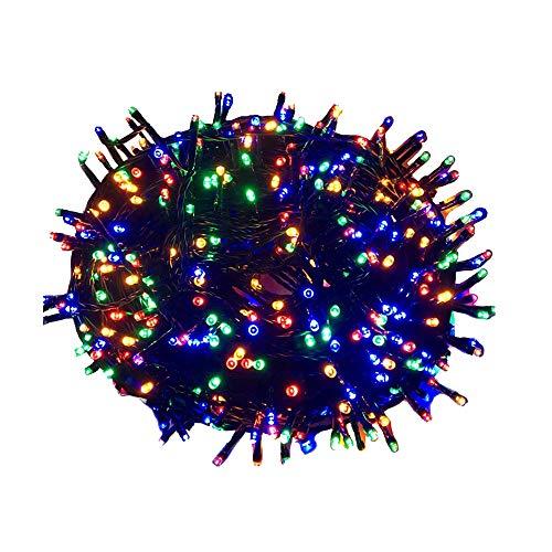 NAIZY Led Lichterkette, 100m 1000 LED Lichter Mit IP44 Wasserdicht und 8 Modi für Innen, Außen, Weihnachten, Party, Hochzeit, DIY - Mehrfarbig